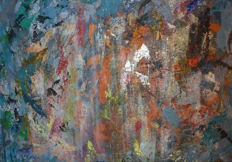 Abstract-crazyblue