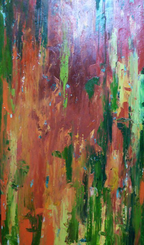 Abstract-green-orange