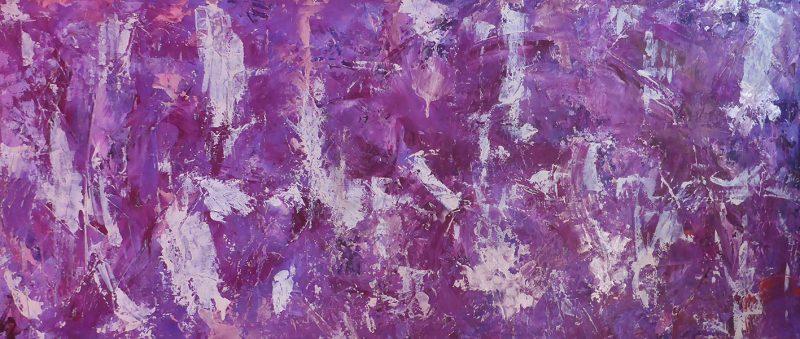 Abstract-lila