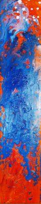 Abstract-orange-blue